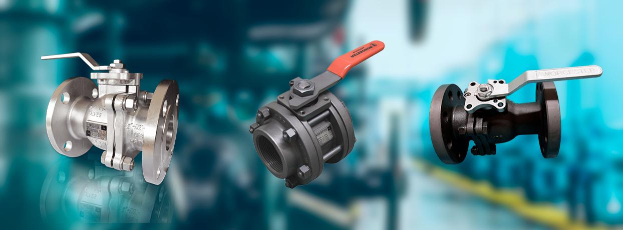 Garantiza la segura y efectiva operación de los procesos de tus clientes con las Válvulas de bola Worcester